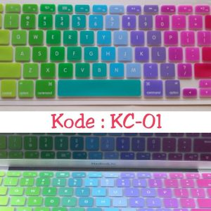 Silicone-Keyboard-Protector-MIXED-COLOR-KC-01-for-Macbook