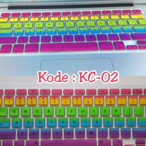 Silicone-Keyboard-Protector-MIXED-COLOR-KC-02-for-Macbook