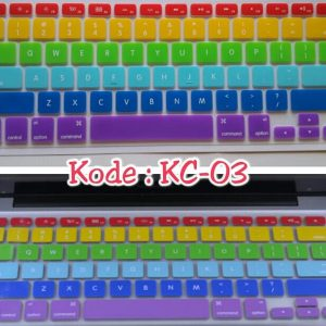 Silicone-Keyboard-Protector-MIXED-COLOR-KC-03-for-Macbook