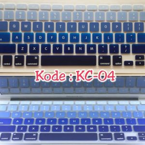 Silicone-Keyboard-Protector-MIXED-COLOR-KC-04-for-Macbook