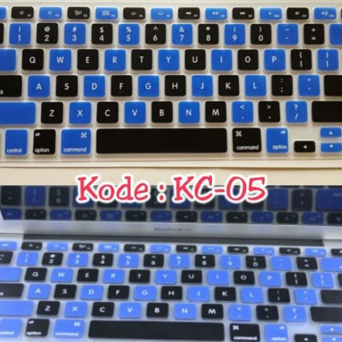 Silicone-Keyboard-Protector-MIXED-COLOR-KC-05-for-Macbook