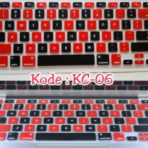 Silicone-Keyboard-Protector-MIXED-COLOR-KC-06-for-Macbook