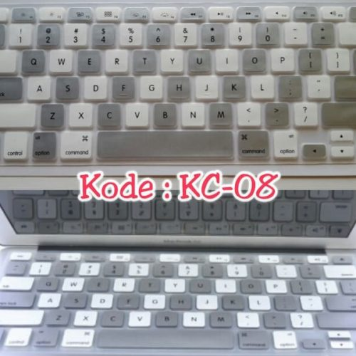 Silicone-Keyboard-Protector-MIXED-COLOR-KC-08-for-Macbook