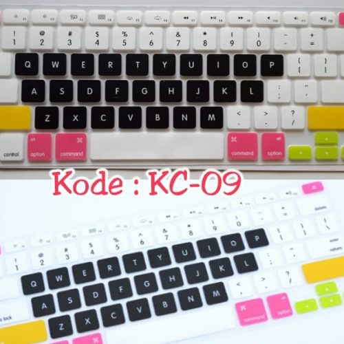 Silicone-Keyboard-Protector-MIXED-COLOR-KC-09-for-Macbook