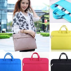 Tas-Hand-Bag-Case-Polkadot laptop-for-Macbook